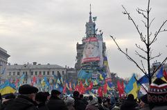 Kyiv Maidan Revolution Advantages_105 Royalty Free Stock Photo