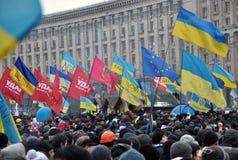 Kyiv Maidan Revolution Advantages_158 Stock Image