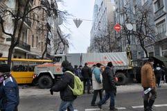 Kyiv majdanu rewolucja Advantages_59 Zdjęcia Royalty Free