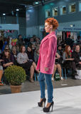 Kyiv-Modefestival 2016 der Mode in Kiew, Ukraine Lizenzfreie Stockfotos
