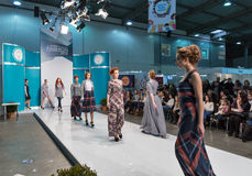 Kyiv-Modefestival 2016 der Mode in Kiew, Ukraine Stockfoto