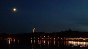 Kyiv natt arkivfoto