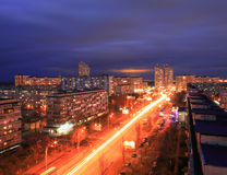 Kyiv at night. Image of Kyiv downtown at night. Ukraine Royalty Free Stock Photos