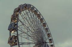 Kyiv obserwaci koło z dodatkowym miejscem dla teksta Zdjęcia Royalty Free