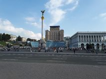 Kyiv Onafhankelijkheid Maidan stock afbeeldingen