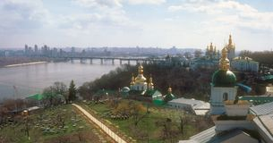 Kyiv panorama. Royalty Free Stock Images