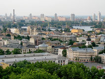 Kyiv panorama Royalty Free Stock Images