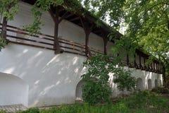 Kyiv Pechersk Lavra Fortsficanions-Wand Stockbild