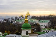 Kyiv Pechersk Lavra, Kiev, Ukraine stock images