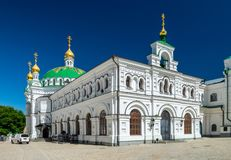 Kyiv Pechersk Lavra Ukraine Europe travel historic. Orthodox Christianity church Cathedral of the Dormition Stock Images