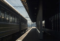Kyiv Railway Royalty Free Stock Photo