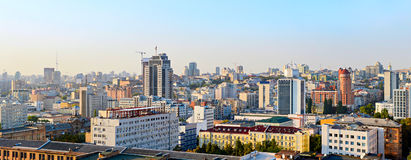 Kyiv skyline, Ukraine Royalty Free Stock Photo