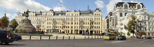 Kyiv stad Arkivbild