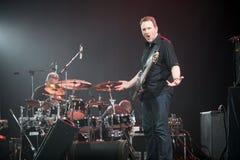 KYIV, UCRÂNIA - 13 de julho, Mike Stern Band Imagens de Stock Royalty Free