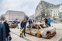KYIV, UCRÂNIA - 25 de fevereiro de 2015 Imagens de Stock