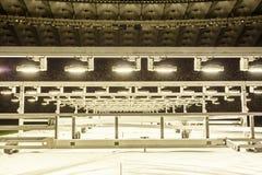 Kyiv, Ucrania - 2 de marzo de 2017: NSC Olimpiiskiy Estadio de fútbol central en Ucrania Imágenes de archivo libres de regalías