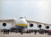 KYIV, UCRANIA EL 28 DE SEPTIEMBRE: Antonov 225   Imagen de archivo libre de regalías