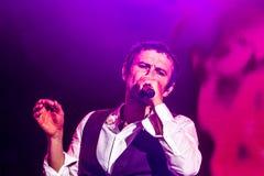 KYIV UKRAINA, CZERWIEC, - 21: Svyatoslav Vakarchuk na koncercie Okea Obraz Royalty Free