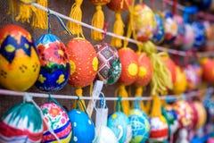 KYIV, UKRAINA KWIECIEŃ 9, 2017: Coroczna Wielkanocna wystawa Obraz Stock