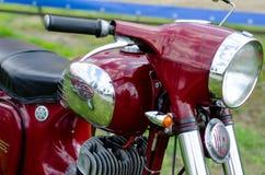 Kyiv Ukraina, Maj, - 11, 2019: Stary JAWA motocykl obraz royalty free