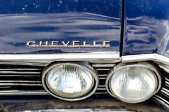 Kyiv Ukraina - September 30, 2018: Chevrolet Chevelle fotografering för bildbyråer