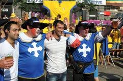 KYIV, UKRAINE - 19. JUNI 2012 Stockfotos