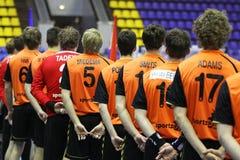 Niederländische Handball-Nationalmannschaft Lizenzfreies Stockbild