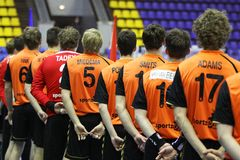 Équipe nationale de handball néerlandais Image libre de droits
