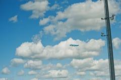 Kyiv, Ukraine -15 en août 2016 : Lignes aériennes Boeing 7 de KLM Royal Dutch Images libres de droits