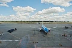 Kyiv, Ukraine -15 en août 2016 : Lignes aériennes Boeing 7 de KLM Royal Dutch Photographie stock libre de droits