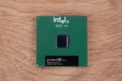 KYIV, UKRAINE - Feb 17, 2018 Intel Pentium III stockfotos