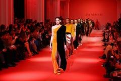 Ukrainian fashion week FW18-19 in Kyiv Stock Photography