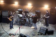KYIV, UKRAINE - July 13, Mike Stern Band Royalty Free Stock Photography