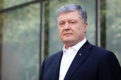 Chairman of the European Solidarity Party Petro Poroshenko. KYIV, UKRAINE - Jun 06, 2019: Ex-President of Ukraine, Chairman of the European Solidarity Party stock images