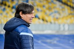KYIV, UKRAINE - 15 March, 2018: Coach Simone Inzaghi during the stock image