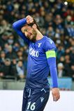 KYIV, UKRAINE - 15 March, 2018: Marco Parolo during the UEFA Eur stock images