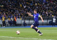 UEFA Europa League: FC Dynamo Kyiv v SS Lazio royalty free stock image