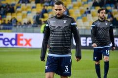 KYIV, UKRAINE - 15 March, 2018: Stefan de Vrij during the UEFA E stock photography