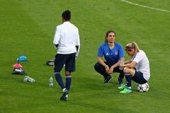 UEFA Women's Champions League Final 2018: Olympique Lyonnais t Stock Photos