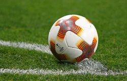 Official UEFA Europa League match ball Royalty Free Stock Photos