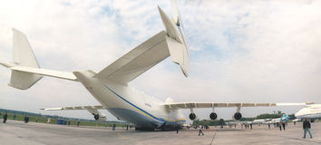 KYIV, UKRAINE-SEPTEMBER 28: Antonov 225  Royalty Free Stock Photo