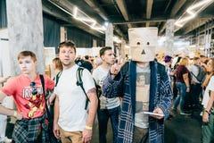 KYIV, UKRAINE - SEPTEMBER 22, 2018: General photo at Comic Con UA. KYIV, UKRAINE - SEPTEMBER 22, 2018: at Comic Con Ukraine convention at Kyiv or Kiev royalty free stock photos