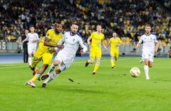 UEFA Europa League football match Dynamo Kyiv – Astana, September 20, 2018. royalty free stock image