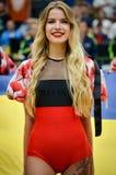 KYIV, UKRAINE - September 14 2018: Red Foxes Olympic dance team stock image