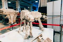 KYIV, UKRAINE - SEPTEMBER 22, 2018: Star Wars craft at Comic Con. Ukraine convention at Kyiv or Kiev stock photography