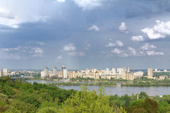Kyiv, Ukraine.View on the Dnieper River Stock Images