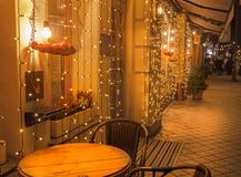 KYIV, UKRAINE: Weihnachtsdekoration in Kiew Lizenzfreies Stockfoto