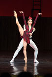 Kyiv visade den nationella operettteatern baletten Arkivbild