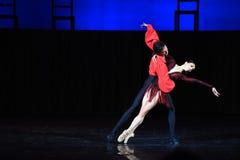 Kyiv visade den nationella operettteatern baletten Royaltyfri Fotografi