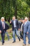 Kyiv Vitali Klichko市长 免版税库存照片
